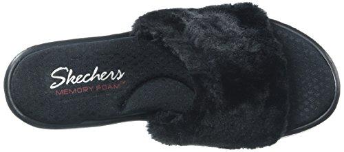 Skechers31584 Rumblers Noir Noir Summer Femme Peach rAUB8rxw