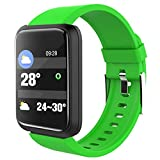 KTYX Bracelet Smart Color Screen Sports Bracelet Men And Women Heart Rate Blood Pressure Monitoring WeChat Sports Step Watch Huawei OPPO Apple Android Phone Universal smart watch