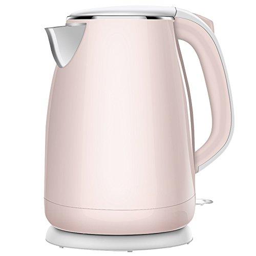 CTao Bouilloire électrique D'arrêt Automatique De Bouilloire D'acier Inoxydable De BPA-Libre,Pink