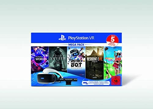 Playstation VR Mega Pack 2, VR-Brille INKL. Camera + VR Worlds + ...