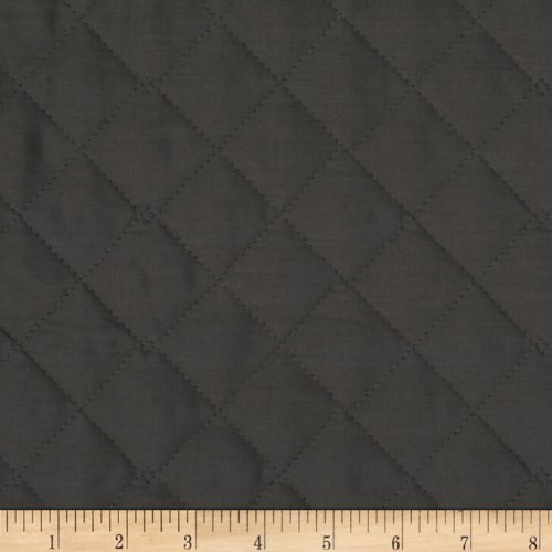 Double Sided Quilted Fabric - Fabri-Quilt 0269129 Double Sided Quilted Broadcloth Dark Grey Fabric by the Yard