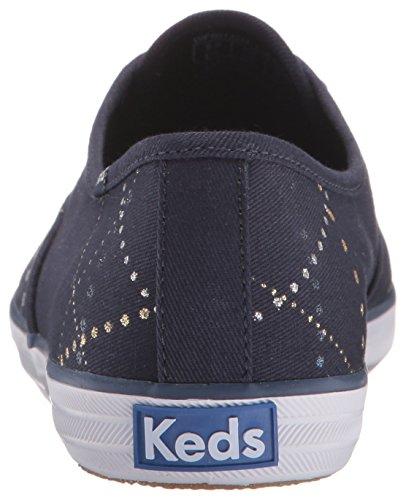Keds Womens Taylor Swift Lazer Lights Fashion Sneaker Navy CMLDyiNTR