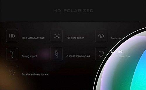 sol de hombre negro color para polarizadas Gafas VETHDIA P8FqTP