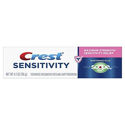 Crest Sensitivity Whitening Plus Scope Minty Fresh 4.1 oz (Pack of 2)