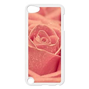 For SamSung Galaxy S4 Phone Case Cover Macro Pink Rose Dew Hard Shell Back White For SamSung Galaxy S4 Phone Case Cover 305008