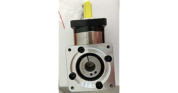 Fevas Planetary Gear Reducer 7 arcmin Ratio 3:1 to 10:1 for 60mm 200W AC servo Motor Input Shaft 11mm