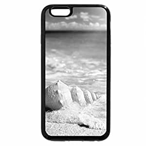 iPhone 6S Plus Case, iPhone 6 Plus Case (Black & White) - Beachbreeze