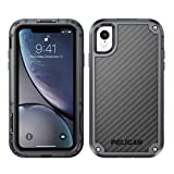 clip for pelican case - Pelican Shield iPhone XR Case with Kevlar Brand fibers (Grey)