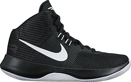 NIKE Womens Air Precision Black White BasketBall Shoes KJOj0IS