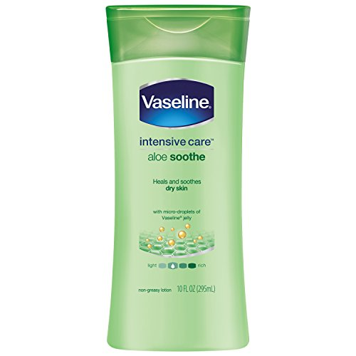 Vaseline Intensive Care Body Lotion, Aloe Soothe 10 oz (Marks Lotion Special Stretch Maternity)
