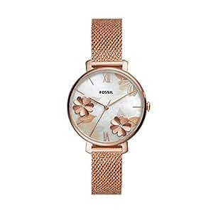 Fossil Women's Quartz Wrist Watch analog Display and Stainless Steel Strap, ES4534