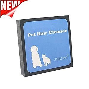 SEALEN Pet Hair Cleaner, Reusable Hair Fur Remover for Pet Dogs Cats,Magic Pet Hair Foam Block Erasing for Furniture Bedding Carpets Car Seats Clothing