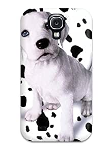 Fashion PlQIyBd12055FksOb Case Cover For Galaxy S4(dalmatian)