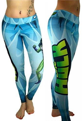 She Hulk Superhero Leggings Yoga Pants Compression Tights