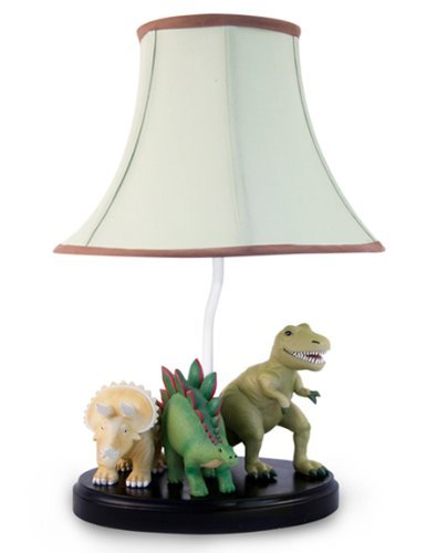 Dinosaur table lamp with matching night light fantastic hand dinosaur table lamp with matching night light fantastic hand painted details mozeypictures Gallery