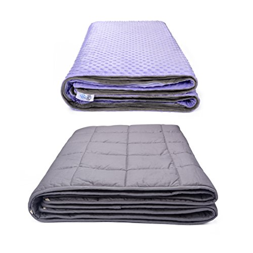 Weighted Blanket for Kids and Adults with Anxiety 12lb 60x80