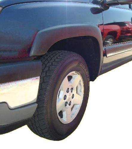 1999-2006 Chevy Silverado GMC Sierra Fender Flares Smooth Finish Set of 4