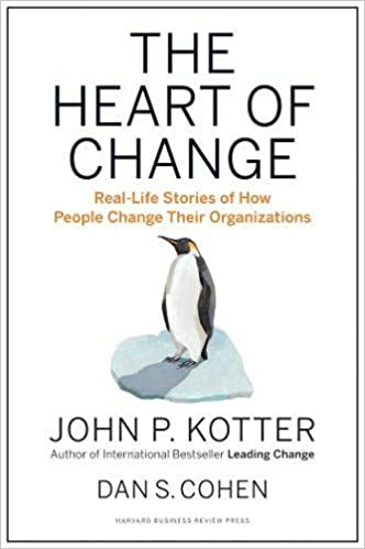 The heart of change : real-life stories of how people change their organizations /