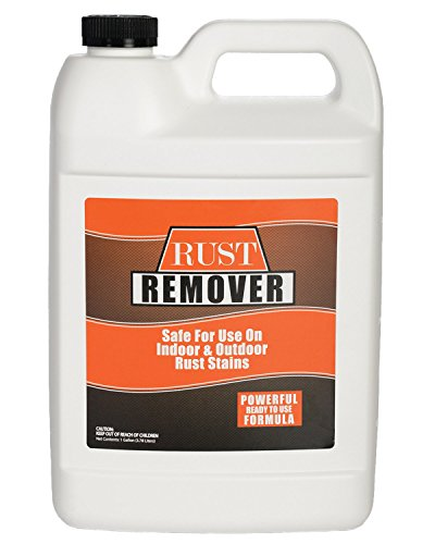 Rust Remover Gallon (128 Ounces) - Safely and Easily Takes Out Rust and Iron Stains from Sinks, Dish Washers, Tile, Tubs, Siding, Concrete and Fences