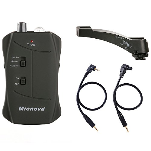 Micnova Photography Wireless Flash Trigger MQ-VTC for Canon Cameras by Micnova