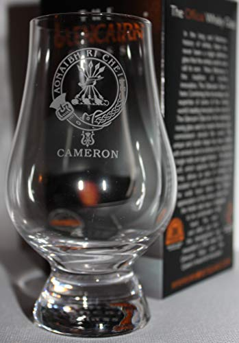 CLAN CAMERON GLENCAIRN SINGLE MALT SCOTCH WHISKY TASTING GLASS