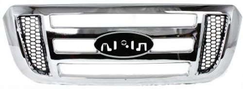 (Crash Parts Plus Chrome Grille Assembly for 2006-2011 Ford Ranger)