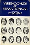 Visiting Cards of Prima Donnas, F. C. Schang, 0533028175