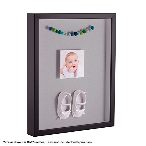 ArtToFrames 24 x 36 Inch Shadow Box Picture Frame, with a Sa