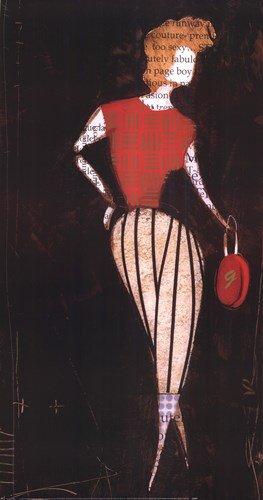 Craig Alan Fashion (Fashion I by Craig Alan - 20.75x39 Inches - Art Print Poster)