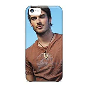 High Quality Hard Cell-phone Cases For Iphone 5c (PeE8716QJsU) Provide Private Custom Colorful Ian Somerhalder Series