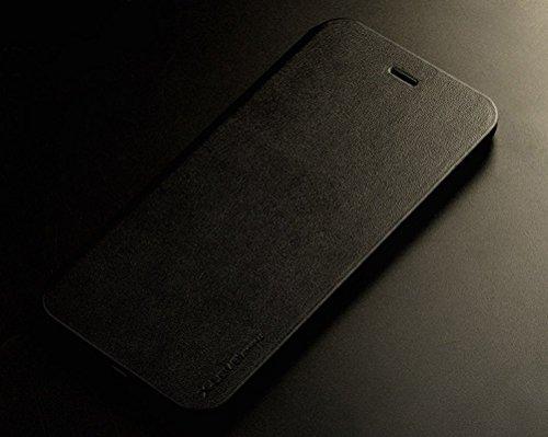"""iPhone 6S Hülle, HICASER UltraSlim Premium Soft Leder Klappetui Schutzhülle für Apple iPhone 6 / 6S 4.7"""" [Full Body] Handyhülle Stoßdämpfende Case mit Standfunktion Schwarz"""