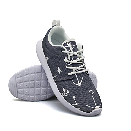 Hiking Breathabl Women's Pattern Seamless Athletic Anchor Shoe tayedass Lightweight Sneaker Fashion Pattern Anchor Seamless Running f1Zqvwnw