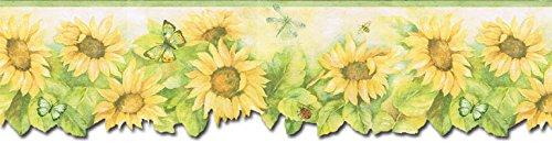 - Sunflowers Wallpaper Border FK72636DC