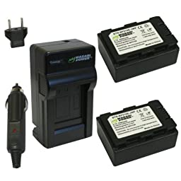 Wasabi Power Battery and Charger Kit for Samsung BP210E, IA-BP210E, IA-BP210E/EPP and Samsung HMX-F80, HMX-F90, HMX-H200, HMX-H203, HMX-H204, HMX-H205, HMX-H300, HMX-H304, HMX-S10, HMX-S15, HMX-S16, SMX-F40, SMX-F43, SMX-F44, SMX-F50, SMX-F53, SMX-F54, SM
