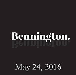 Bennington, May 24, 2016 Radio/TV Program