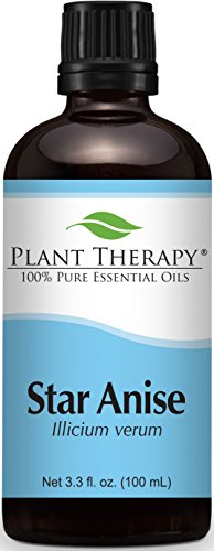 Plant Therapy Star Anise Essential Oil 100 mL (3.3 oz) 100% Pure, Undiluted, Therapeutic Grade