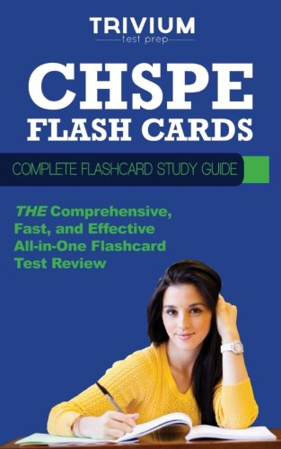 CHSPE Flash Cards: Complete Flash Card Study Guide
