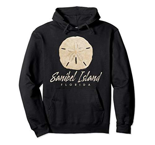 Sanibel Island Florida Gift Shelling Sand Dollar Pullover Hoodie