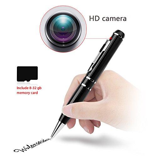 2K Hidden camera with 32GB GSmade Full HD 2K Spy Pen Camera