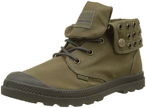 Palladium Top Supply Trainers Green Kaki Low Women's Lp 023 Baggy Hi qxw4gHpFq