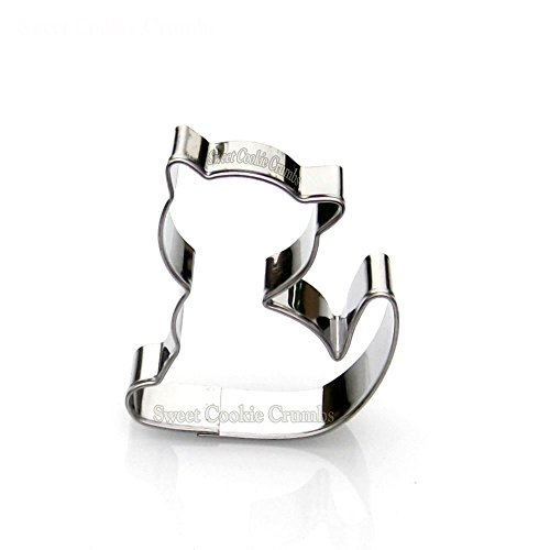 Mini Cat Cookie Cutter- Stainless Steel (Cat Cookie Recipe)