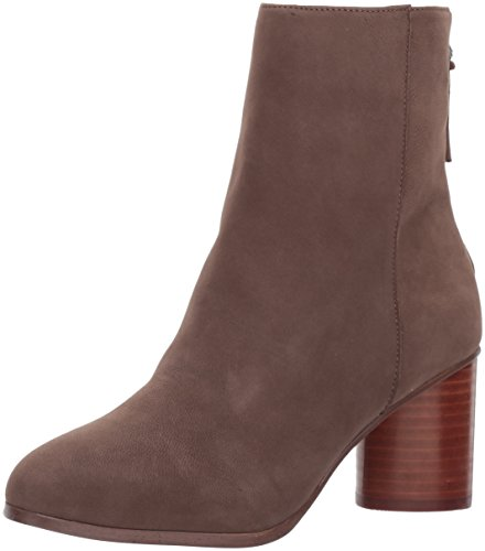 STEVEN by Steve Madden Women's Veronica Ankle Bootie, Taupe Nubuck, 8 M US