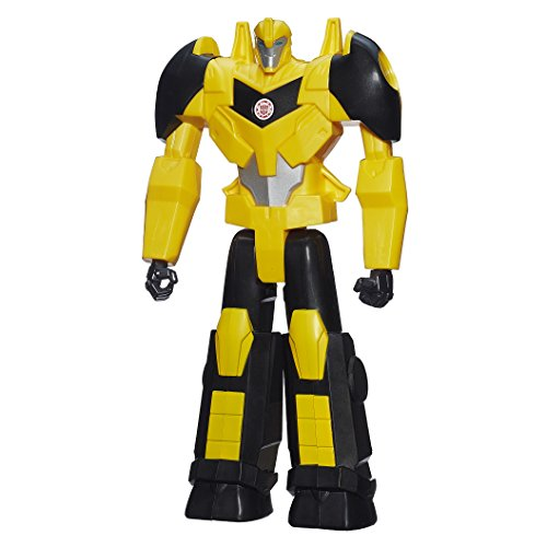 Heroes Bumble Robot Bee - Transformers Robots in Disguise Titan Heroes Bumblebee Figure, 12