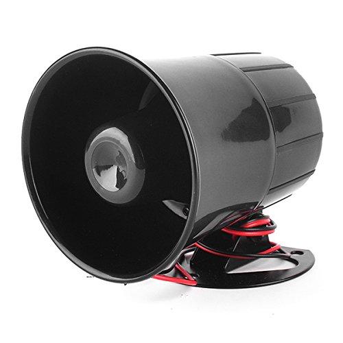 12V 15W Car Van Truck 6 Tone Loud Security Alarm Siren Horn for Speaker System