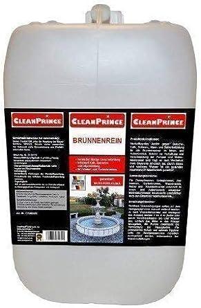 Cleanprince Fuente Pura Limpiador de Fuente 5 Litros Algas ...