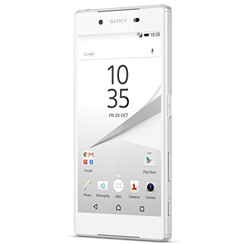 (Sony Xperia Z5 Compact E5803 Unlocked GSM 4G LTE Octa-Core Android Phone - White)