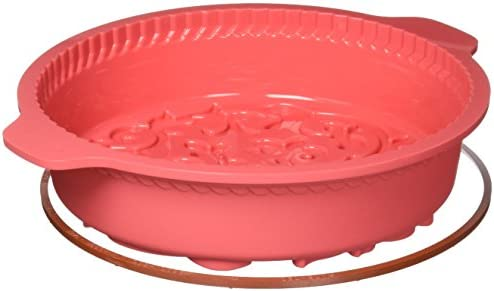 Silikomart Silicone Fancy and Function Bakeware Collection Cake Pan, Ornamental