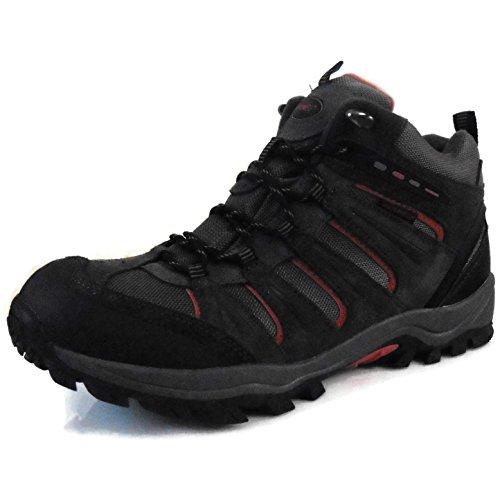 Khombu Men's Terrain Waterproof Hiker/Winter Boots Grey 8M