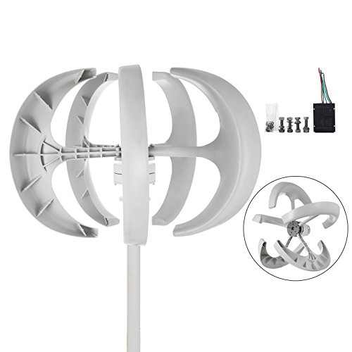 happybuy-wind-turbine-400w-dc-12v-wind-turbine-generator-kit-5-blades-vertical-wind-power-turbine-generato-white-lantern-style-with-charge-controller-for-power-supplementation