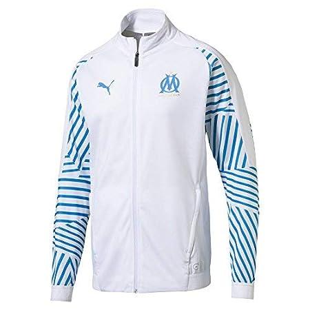 Puma Olympique De Marseille Stadium Without Sponsor Logo, Giacca Uomo 753943